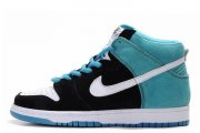 Nike Dunk High Black Blue White M