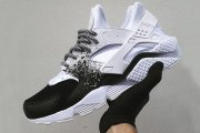 Nike Air Huarache Custom White Black