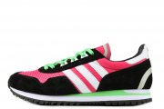 Adidas Originals ZX400 Hyper Pink Black White Lime Green
