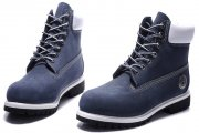 Timberland Classic 6 inch Blue White Boots