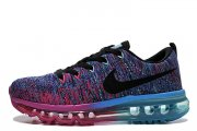 Nike Flyknit Air Max Court Purple Cool Blue Pink Black