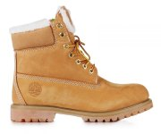 Classic Timberland 6 inch Yellow Winter Fur