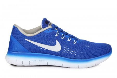 Nike Free Run Flyknit V.1 Blue White