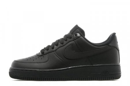 Nike Air Force Low All Black