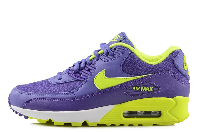 new product e9d85 c7bf0 Nike Air Max 90 Premium Purple Haze Hyper Grape Summit White Volt 325213-506