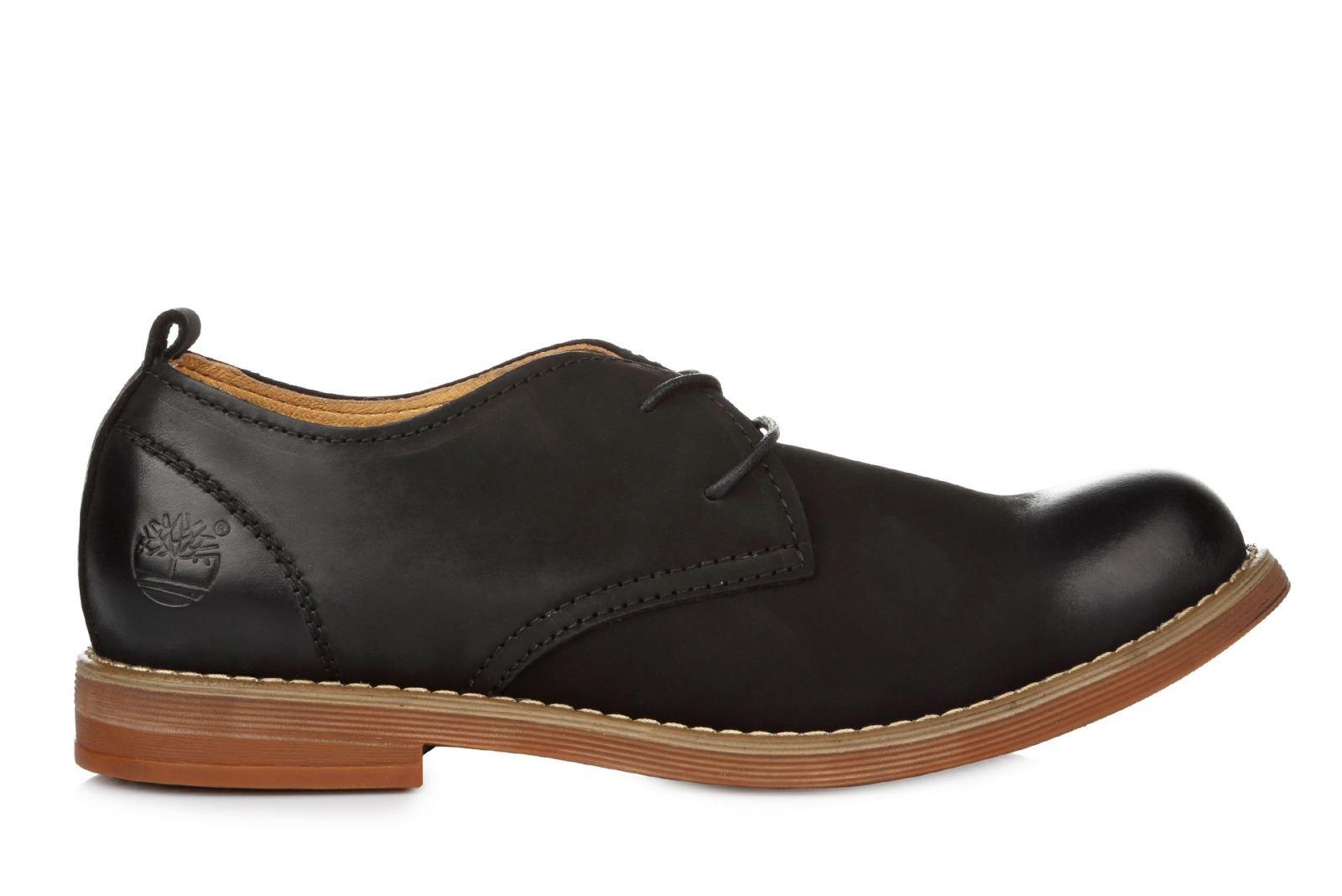 50dc7d4452db Timberland Hartwick Plain Toe Oxford Leather Black, купить обувь ...