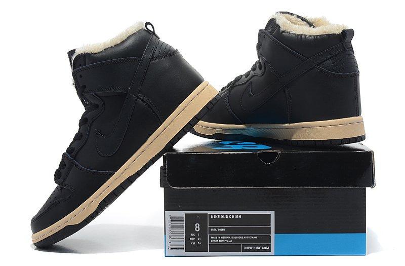 b9745eb2 Nike Dunk High Black Fur, купить обувь Найк в Киеве: цена, фото ...
