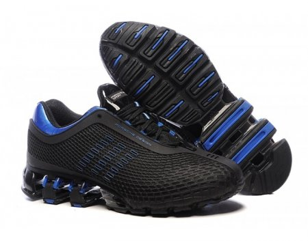 2e41ffa8 Adidas Porsche Design IV Rubber Black Blue, купить обувь Адидас в ...