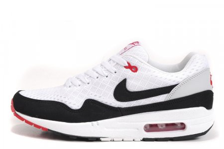 16d1ccc8dbd6 Nike Air Max 87 EM White Black Red, купить обувь Найк в Киеве  цена ...
