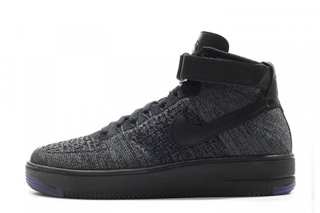 5a322af00dea74 ... NIKE AIR FORCE 1 ULTRA FLYKNIT MID - DARK GREY ...