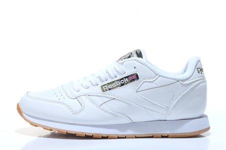 3d7130a121c8 Reebok Classic Leather II White Camo W, купить обувь Рибок в Киеве ...