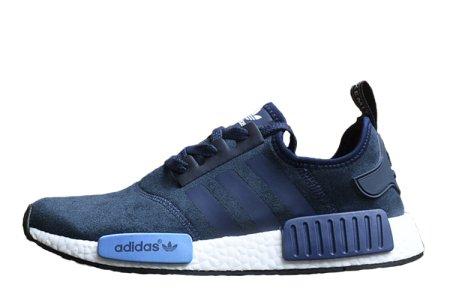 69a5d3d8 Adidas NMD Runner Suede Blue, купить обувь Адидас в Киеве: цена ...