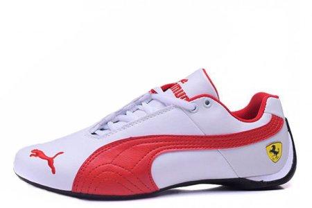 Puma Ferrari Low White Red M, купить обувь Пума в Киеве  цена, фото ... e1efae04d69
