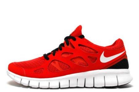the best attitude 5e07f 345ab Nike Free Run Plus 2 Red White W