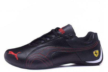 Puma Ferrari Low Black Red M, купить обувь Пума в Киеве  цена, фото ... a60e3858b36